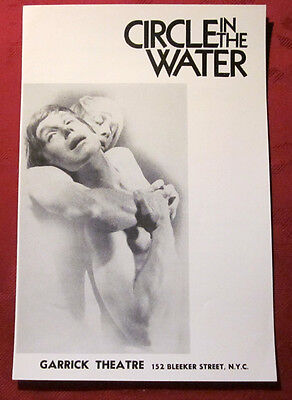 1970 DEAN TAIT Circle In The Water Garrick NYC Theater Program