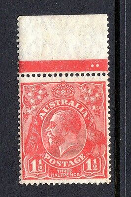 Kgv 11/2D Red Perf 14 Mnh
