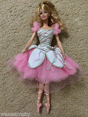 Barbie Peppermint Candy Cane Doll Nutcracker Classic Ballet Collector Edition