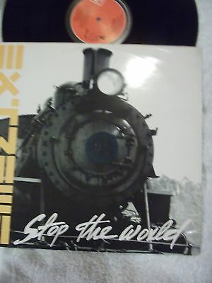 "Extreme - Stop The World - 1992 4 Track 12"" Record. (cat.no; AMY 0096)"