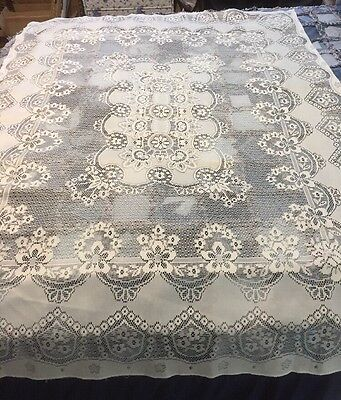 Lace Tablecloth Came From Germany
