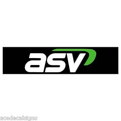 ASV PT30 PT50 PT60 Decal Sticker for front of loader arms- New Repro Decal