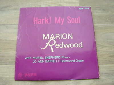 "xian 7"" 45 religious UK gospel 60s MARION REDWOOD Hark ! My Soul 1965"