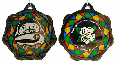 British Columbia Geocaching Association 2009 Geocoin - Member only edition