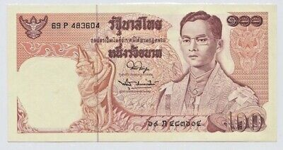 Thailand ND (1973) 100 Baht  Unc.