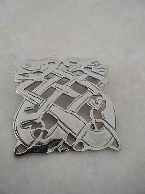 Celtic Zoomorphic Brooch Pin