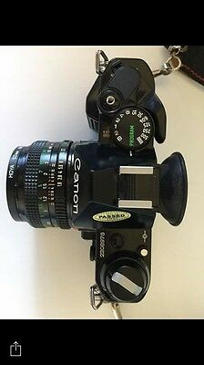 Canon AE-1 Program With 50mm 1.8 Lens Flash Strap Manual Stunning Condition