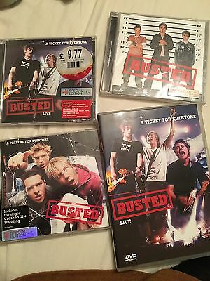 Busted bundle DVDs And CDs