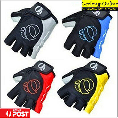 cycling gloves Gel palm cushions half finger gloves for kids size S size Auspost