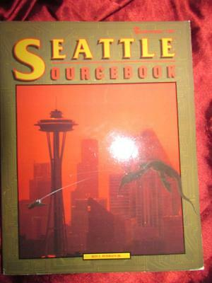 SEATTLE SOURCEBOOK - SHADOWRUN Roleplaying Game RPG OOP