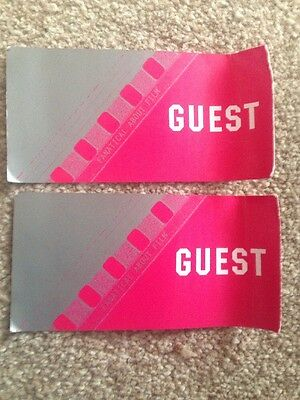 2 X Odeon Cinema Guest Tickets For 3D With Free Glasses Or 2D FREE P&P