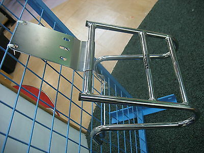 Genuine Lml Star 125 2T 4T / Vespa Px125 Rear Luggage Carrier Rack Chrome - New