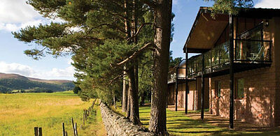 Luxury holiday Lodge Royal Deeside Craigendarroch Skiing walking Balmoral relax