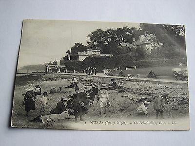 LL Levy Cowes Isle of Wight beach scene