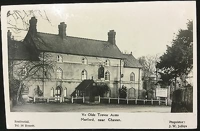 Old British Postcard - Ye Olde Trevor Arms Marford, Near Chester - Wales