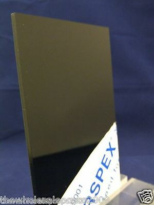 Black Gloss Acrylic Plastic Perspex Sheet 148Mm X 210Mm (A5 Size)Clearance Sale
