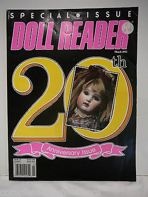 Doll Reader March 1992 20th Anniversary Issue Special Issue