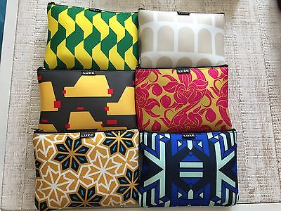 Etihad Airways Business Class Amenity Kit x 6 Complete Set Limited Edition NEW