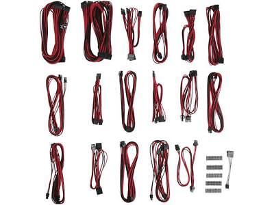 BitFenix ALCHEMY 2.0 PSU CABLE KIT for Corsair Power Supply, CSR-SERIES - Red (B