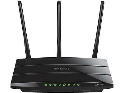 TP-LINK Archer C1200 Dual Band Wireless AC1200 Gigabit Router, Three Antennas, 2