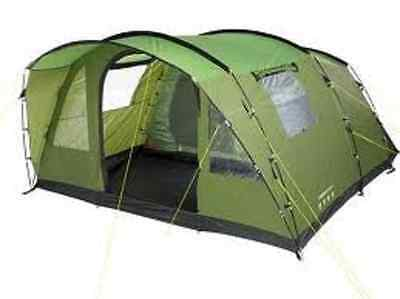 Halfords Urban Escape Atago 5 Man Tent Large Family Camping festival