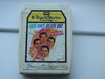 8 Track Four Tops  Reach Out