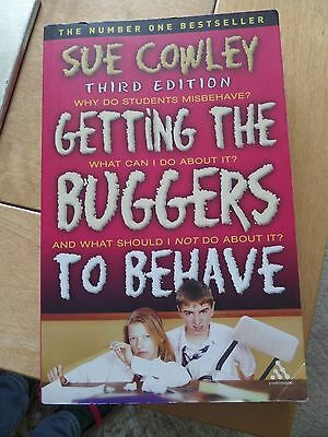 Getting the buggers to behave, third edition, by Sue Cowley