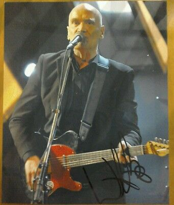 Wilko Johnson Signed 10 X 8 photo Dr Feelgood