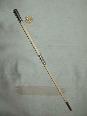 Antique Small Solid Silver Furnished CONDUCTORS BATON. (LONDON 1904)