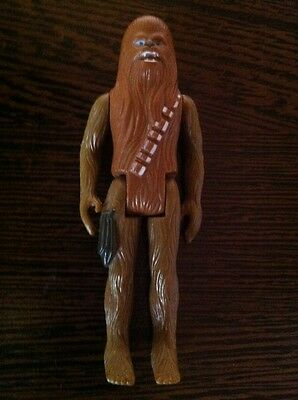 Chewbacca, Green Limbs Variante, Action Figur,Vintage Star Wars,Kenner 1977