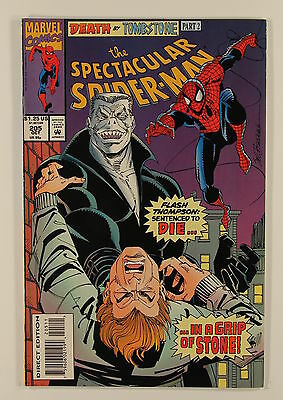 Marvel Comics Peter Parker The Spectacular Spider-Man No 205