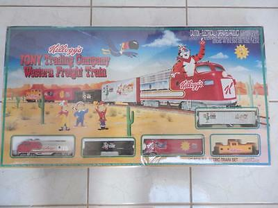 Kellogg's Cereal Tony Tiger Freight Train Set HO Gauge New Factory Sealed! RARE!