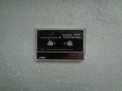 Vintage Audio Cassette TDK SA-X 90 * Rare From 1992 * Unsealed