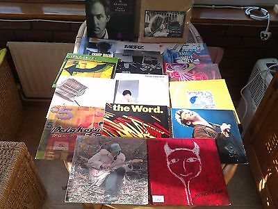 "Job Lot. 14# Indie Records 7"" Vinyl. Vg+ Condition..all Sleeved."