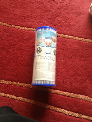 NEW Bestway Flowclear Filter Cartridge Twin Pack Size 2 hot tub lay z spa pool