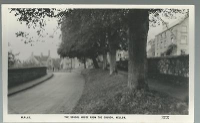 Old Postcard  Frith   School House From Church   Wellow  Somerset    Not Posted