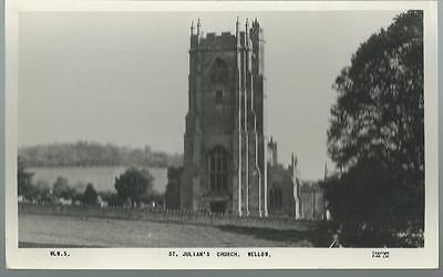 Old Postcard  Frith   St.julian's Church   Wellow  Somerset    Not Posted