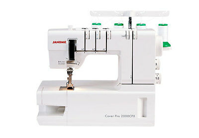 Janome Sewing Machine Model CoverPro 2000CPX ( Brand New ) RRP £ 499