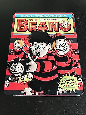 "Huntley & Palmers ""the Beano"" Embossed Biscuit Tin (Empty) Collectable"