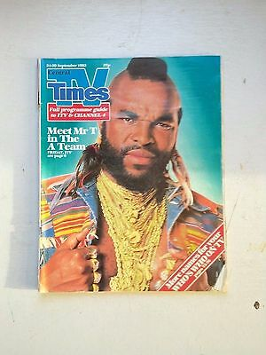 Tv Times Spt 24-30  1983  Mr T  In The A Team Cover
