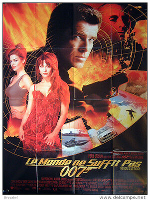 Huge Original French 'the World Is Not Enough'(James Bond) Film Poster, 1999.