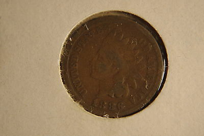 1886 Type 1 Indian Head Penny, Cent
