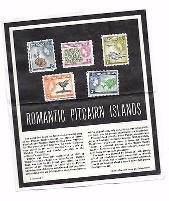 Romantic Pitcairn Islands Stamps