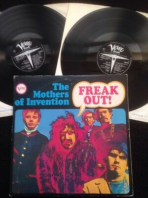 The Mothers Of Invention (Frank Zappa) - Freak Out 2 x LP Gatefold Verve 2683004