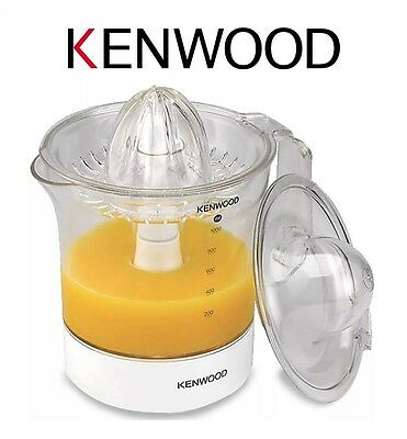 Kenwood JE280 1 Litre Two Way Rotation Citrus Press Juicer in White New