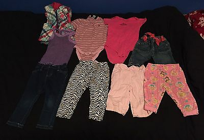 Lot Of Girls Size 12-18 Month Clothing
