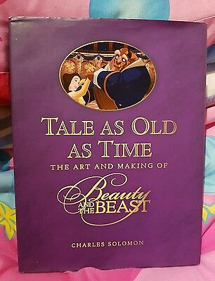 Disney Press Tale as Old as Time Beauty and the Beast Art Making of Book