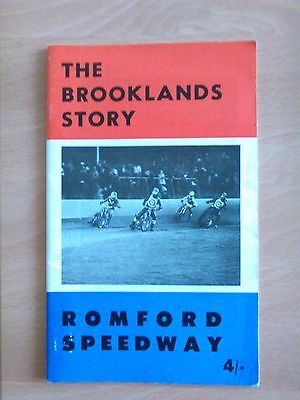 Romford Speedway The Brooklands Story 1969 Book