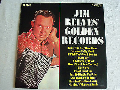 Jim Reeves Golden Records   LP/Record