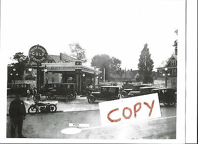 Gulf Oil Early 1900's Station Photo